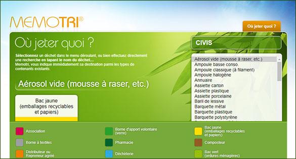 Mémotri : Avec la CIVIS, jetons moins, trions plus!
